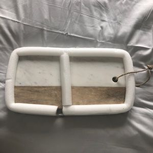 Cheese Board - Marble and Wood